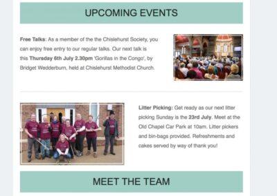 Chislehurst Society Comms